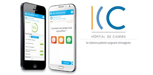 illustration Cannes Coag', l'appli mobile du service de cardiologie
