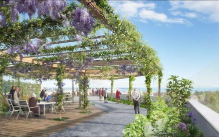 illustration Horizon 2022 : Un nouveau centre de gérontologie pour l'hôpital de Cannes
