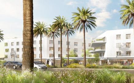 illustration Permis de construire accordé pour le nouvel EHPAD public de l'Hôpital de Cannes Simone Veil