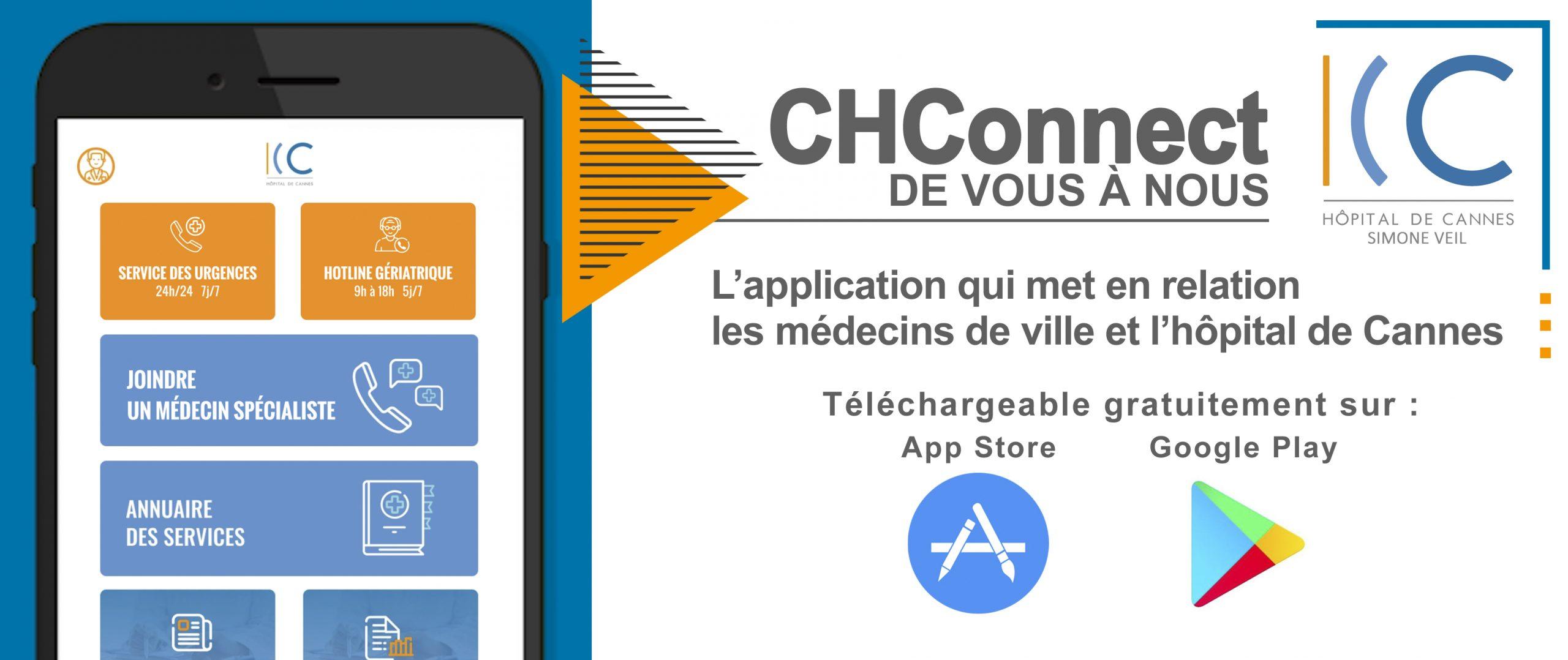 illustration L'hôpital de Cannes – Simone Veil propose une nouvelle application mobile destinée aux médecins de ville